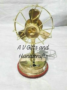 Brass Electric Fan Toys