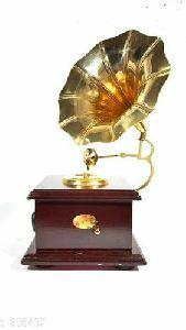 Brass Gramophone Toys