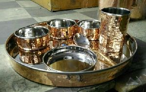 Copper Bhojan Thali