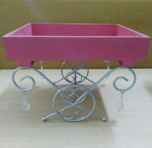Decorative Wooden Cart