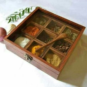 Sheesham Spices Box
