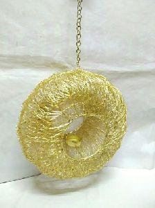 Wire Mesh Hanging Lantern