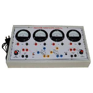 Transistor Characteristic Apparatus