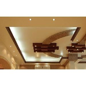 Wooden False Ceiling Services