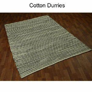 Handmade Cotton Flatweave Rug