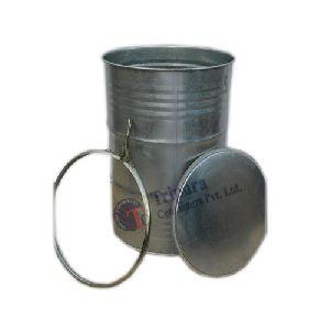 250 Liter Galvanized Barrel