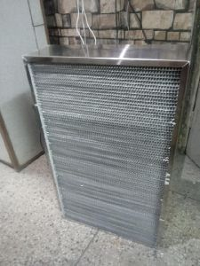 High Temperature HEPA Filter 300 Degrees Temperature