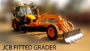 JCB fitted Grader