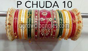 Plastic Bridal Chura Set