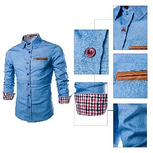 Men Denim Shirts