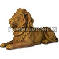 Marble Stone Lion Statue 01