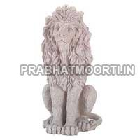 Marble Stone Lion Statue 02