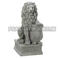 Marble Stone Lion Statue 03