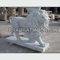 Marble Stone Lion Statue 06