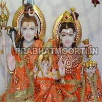 Shankar Parvati Statue 08