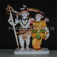 Shankar Parvati Statues 04