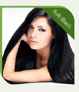SOFT BLACK CHEMICAL FREE HENNA HAIR COLOR POWDER