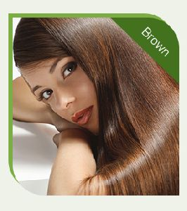 Chemical Free Light Brown Hair Color