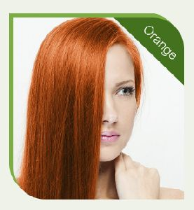 Chemical Free Orange Hair Color