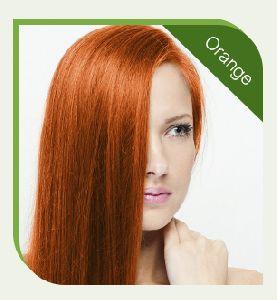 Chemical Free Orange Hair Color