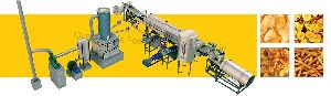 Semi Automatic Potato Chips Production Line