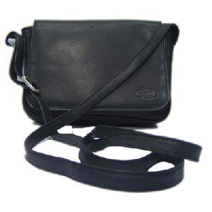 Article No 0013 Black Ladies Leather Sling Bag