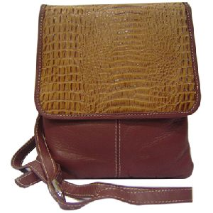 Article No 0803 Brown Ladies Leather Sling Bag