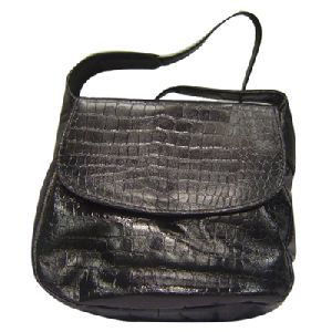 Article No 0804 Black Ladies Leather Sling Bag