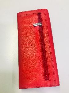 Article No 11047 Ladies Designer Leather Wallet