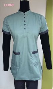 Chinese Collar Scrub Suit