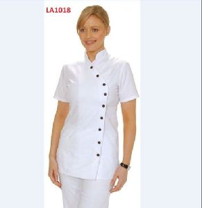 White Scrub Suit