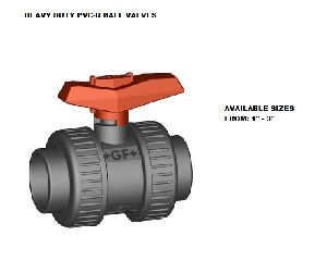 Heavy Duty PVC U Ball Valve