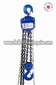 Manual Operating Marine Grade Chain Pulley Block