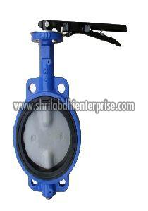 SS Body With Neoprene Lining Butterfly Valve
