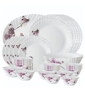 Glass Dinner Set