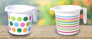 Printed Plastic Bath Mugs