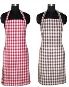 Checkered Kitchen Apron