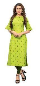 Ladies Green Kurti