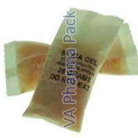 Orange Silica Gel Packets