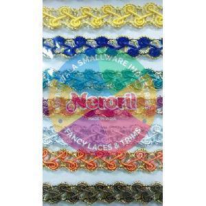 Designer Crochet Zari Lace