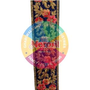 Multicolor Embroidered Lace