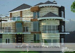 2D & 3D Elevation Designing Services