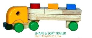 Wooden Shape Sorter Truck