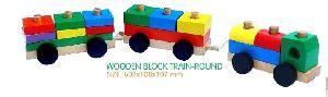 Wooden Shape Sorter Train