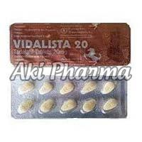 Vidalista 20mg Tablets