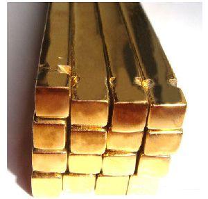 Brass Square Bars