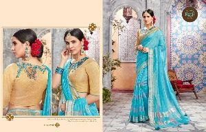 RATI SAREES TANYA FANCY SILK CASUAL SAREE