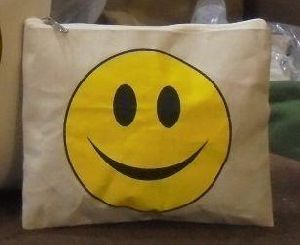 Laminated Zipper Canvas Bag