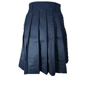Girls Blue School Skirt