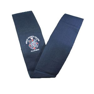 Girls Navy Blue School Dupatta